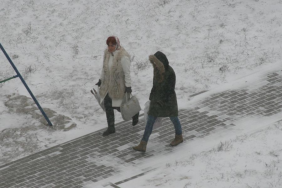 Первый снег в Тамбове