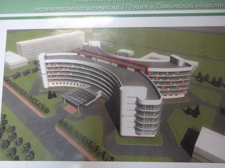 Проект перинатального центра в Тамбове