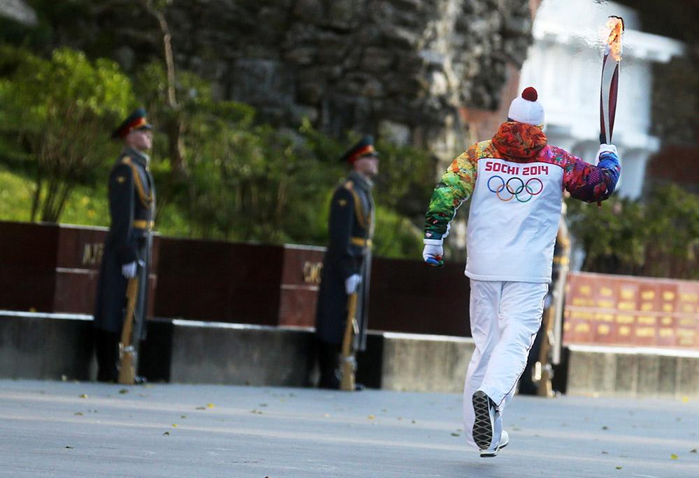 Эстафета Олимпийского огня в Тамбове