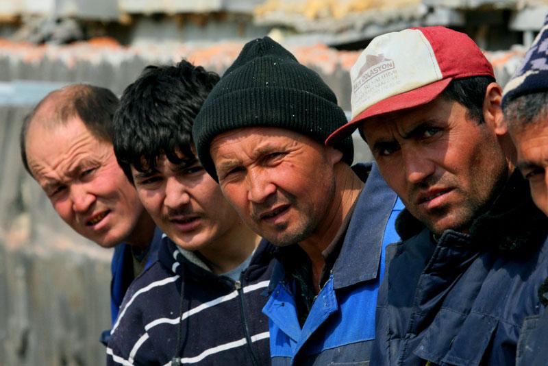 Мигранты в Тамбове