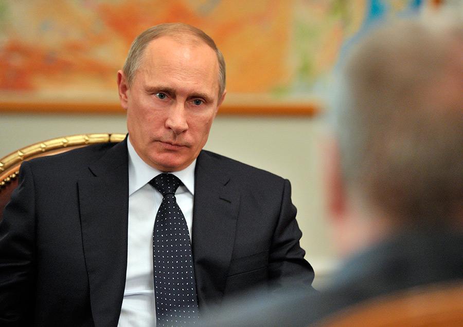 Президент России Владимир Путин./РИА Новости