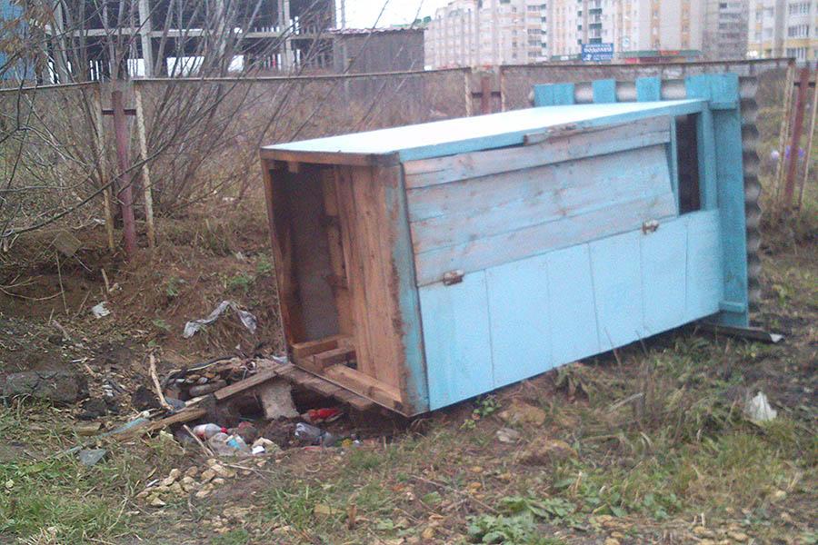 Туалет на Северо-Западной