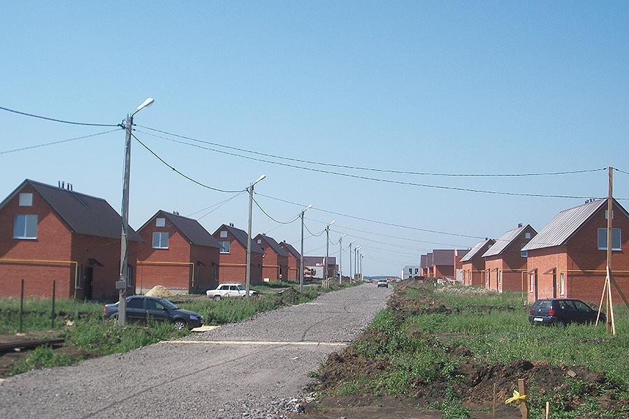 Микрорайон Слобода на севере Тамбова