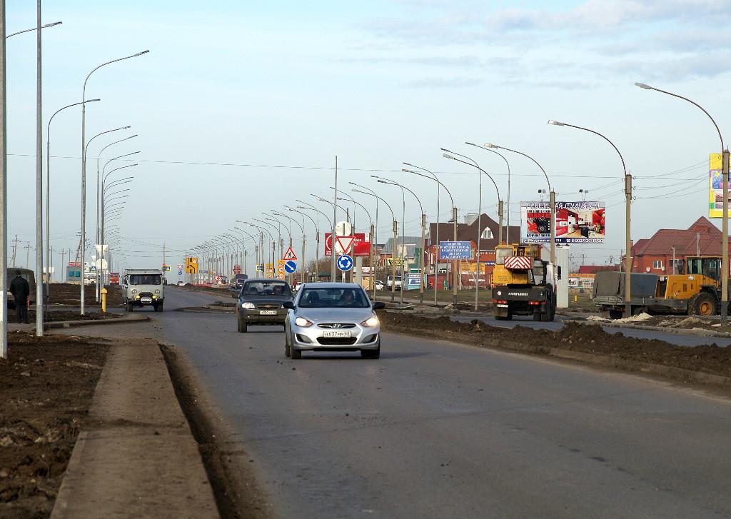 Тамбовские дороги. Ул. Мичуринская. Фото В. Якимов.