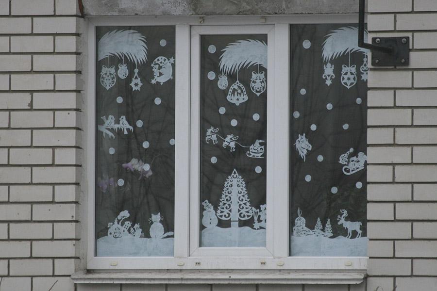 Окно в доме на Ореховой