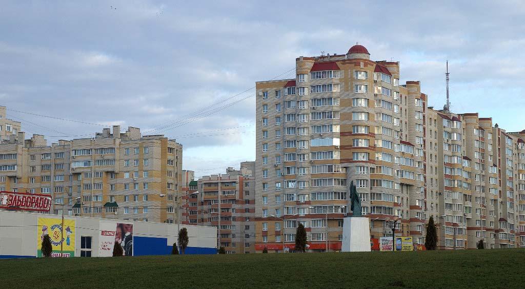 Микрорайон Московский. фото В. Якимов