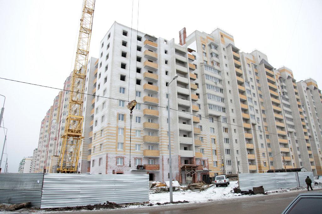 Недостроенный дом по улице Северо-Западная/Агапкина
