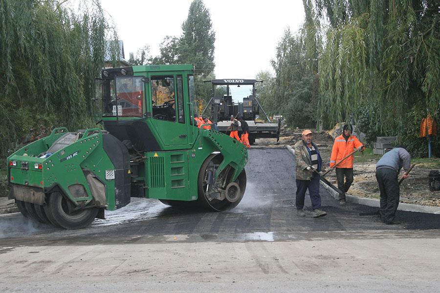 Строительство дорог на севере Тамбова
