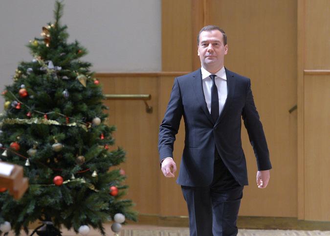 Дмитрий Медведев. Председатель правительства.
