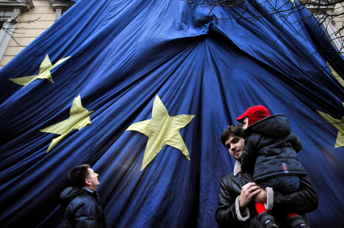 Перспектива безвизового режима с ЕС отодвигается на неопределенный срок/Фото РИА Новости
