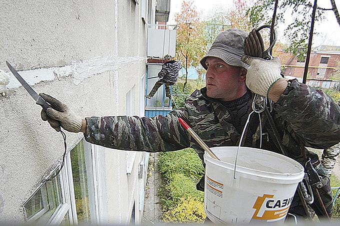 Капитальный ремонт домов. Фото RG.ru