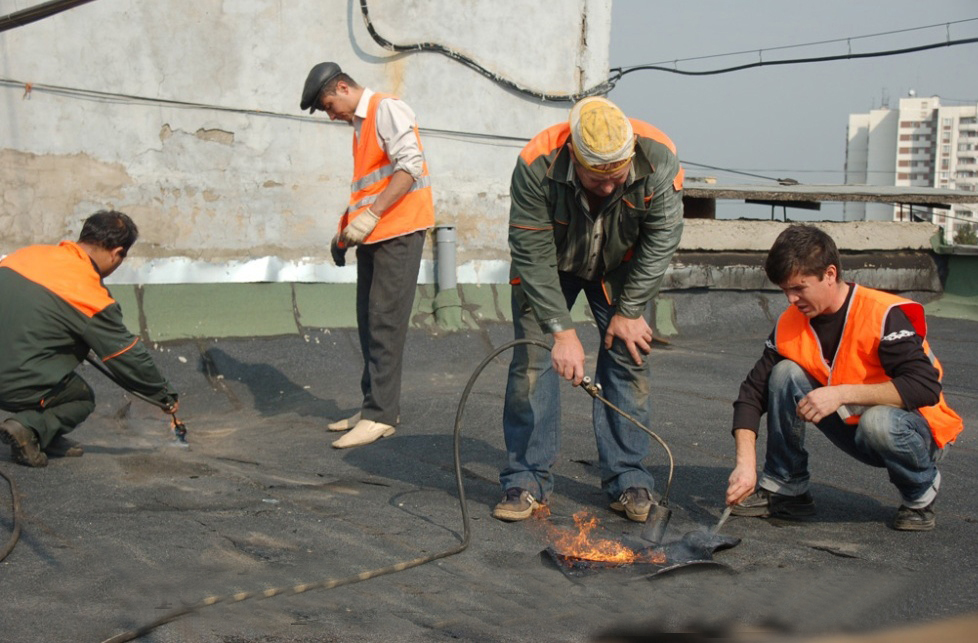 Ремонт крыши. Закон о капительном ремонте домов