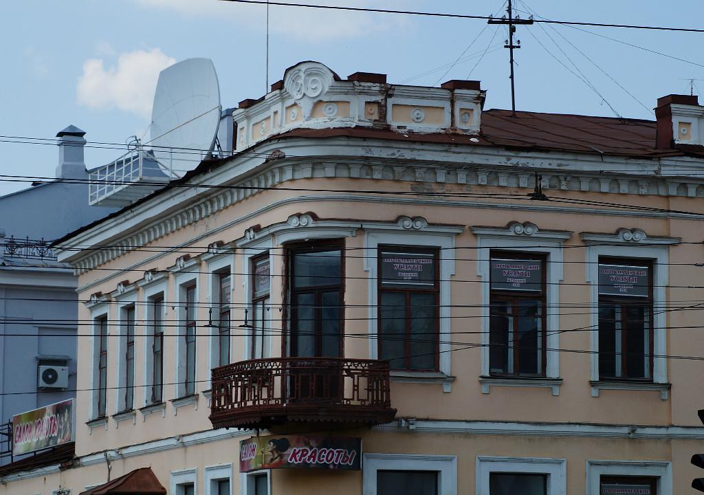 Исторические здания в Тамбове.