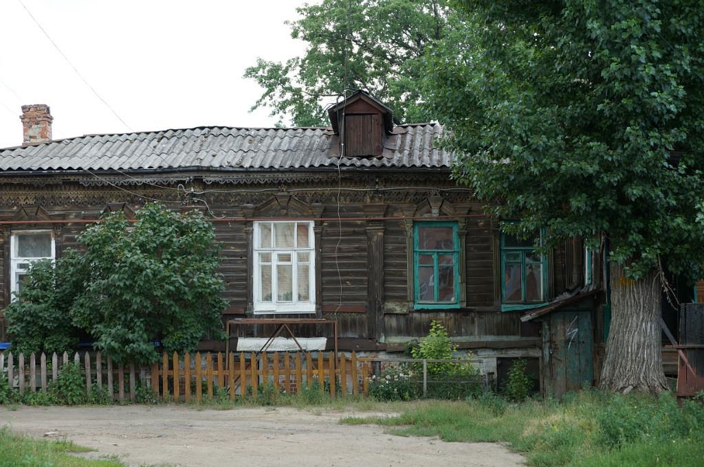 Ветхие дома Тамбова