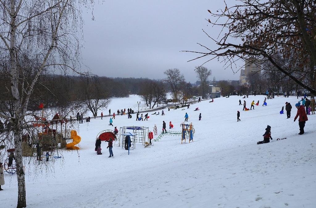 Зима в Тамбове. Фото В. Якимов.