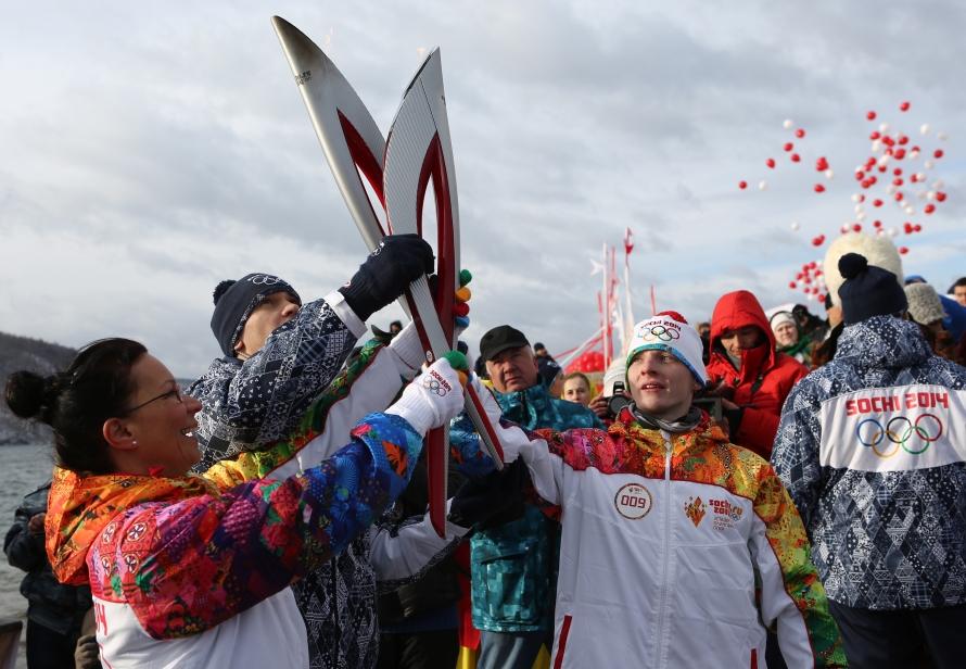 Олимпийский огонь в Тамбове - маршрут