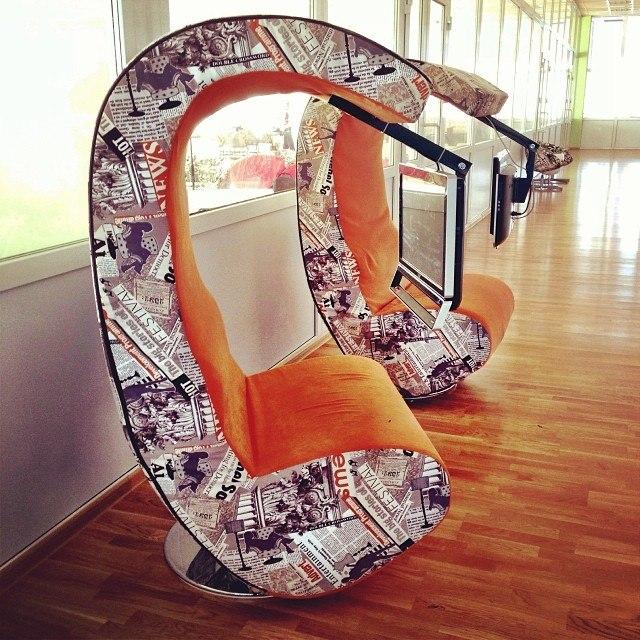 Кресла в Пушкинской библиотеке