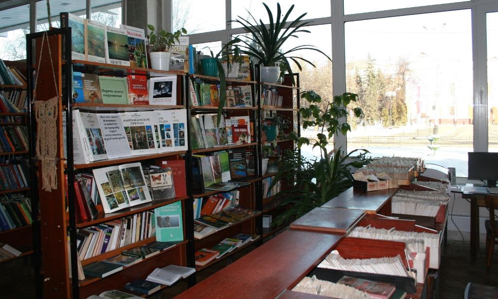 Продление книг онлайн. Пушкинская библиотека в Тамбове.