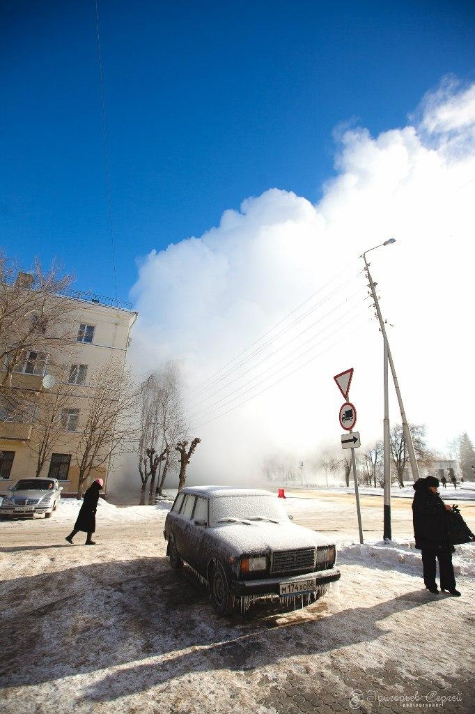 Авария на Степана Разина 31.01.2014