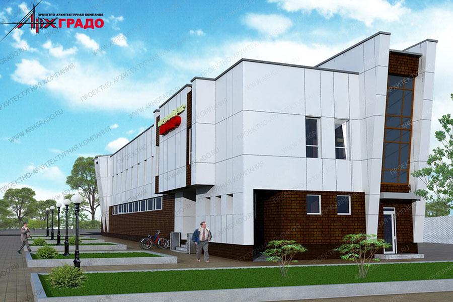 Проект бильярдного клуба на Северо-Западной. Фото с сайта www.arhgrado.ru