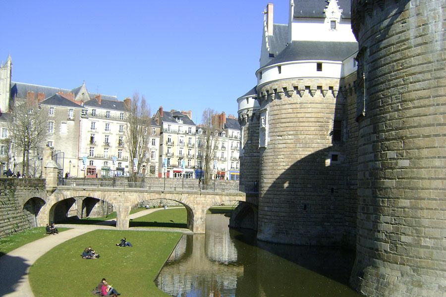 Замок Бретонских герцогов в Нанте (Франция)