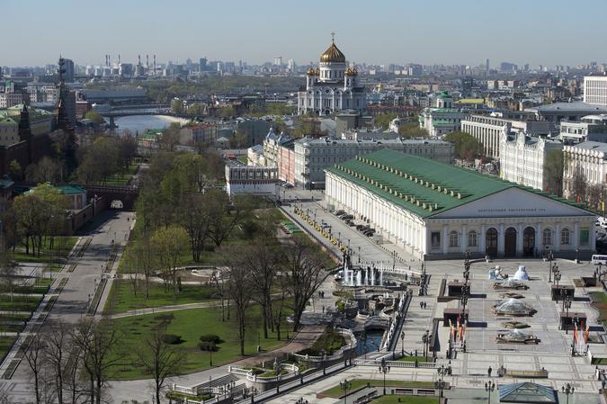 Виды Москвы. Фото РИА Новости