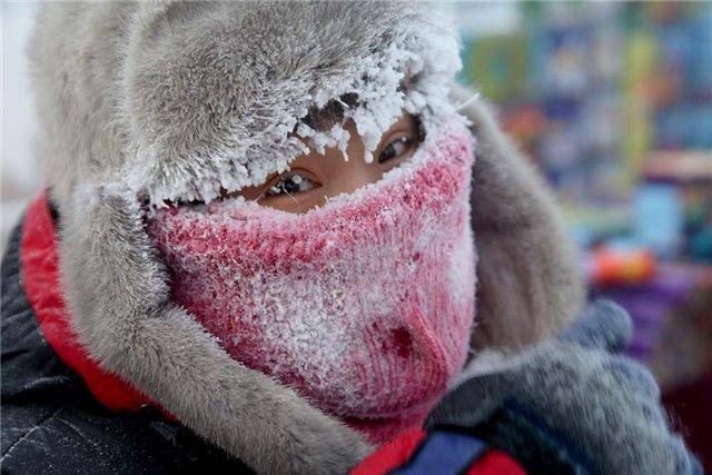 Мороз в Тамбове