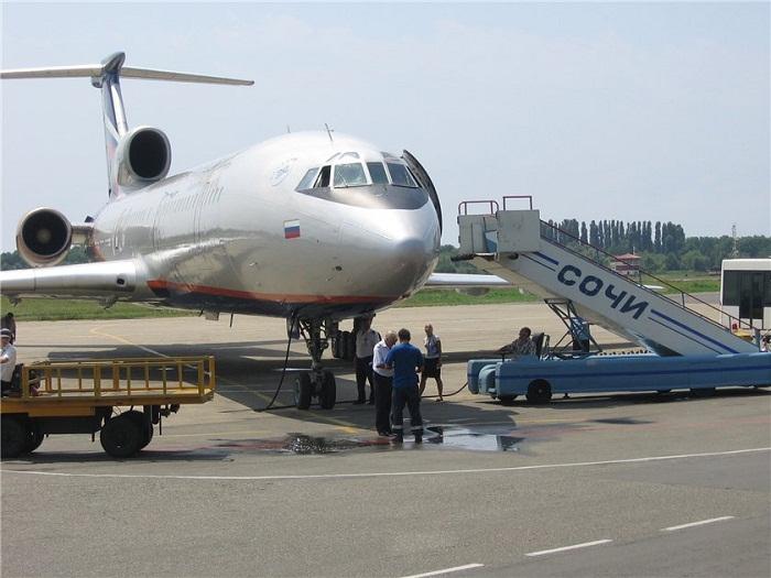Самолетом до Сочи