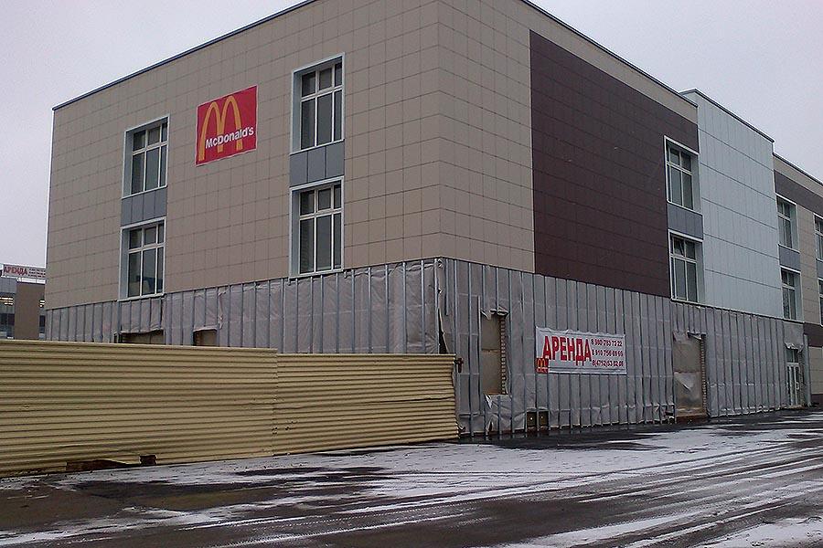 «Макдоналдс» в Тамбове на бульваре Энтузиастов