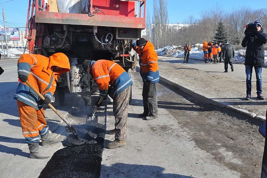 Ремонт дорог с помощью литого асфальтобетона