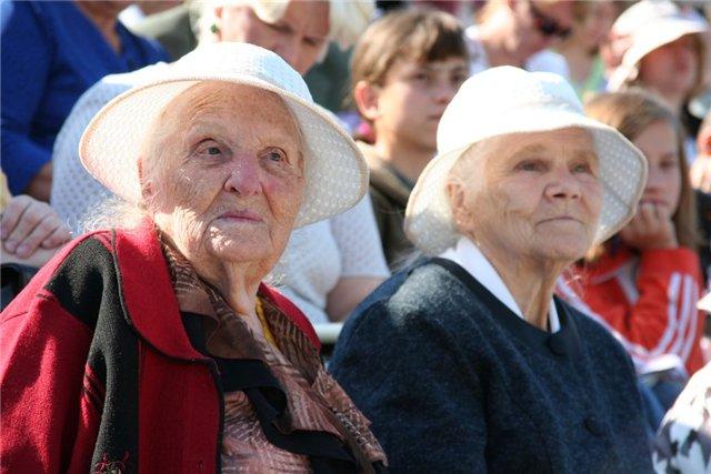 Тамбовские старики