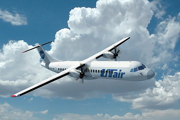 Самолет авиакомпании Ютейр