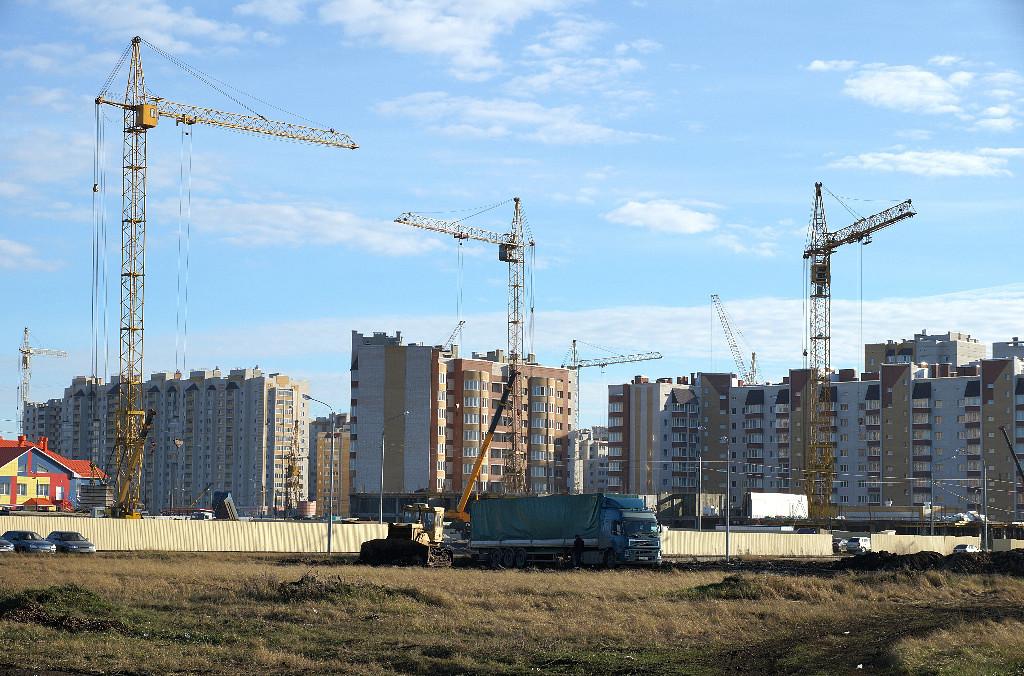 Микрорайон Уютный, осень 2013 года