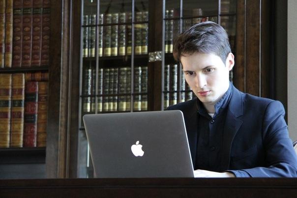 Фото с личной страницы Павла Дурова в социальной сети «ВКонтакте»