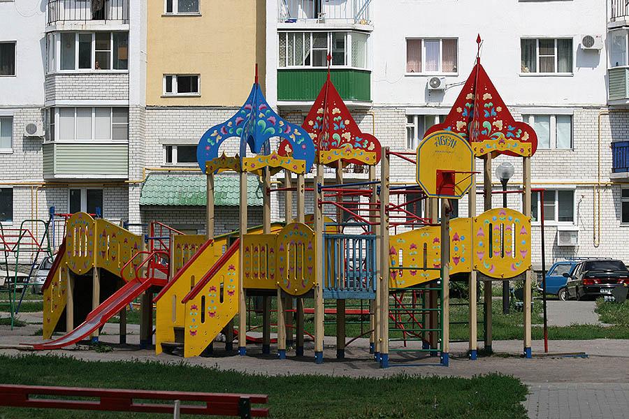 Детская площадка на Ореховой, 3