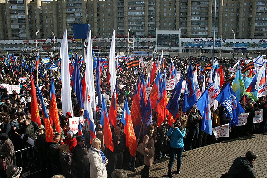 Митинг в Тамбове