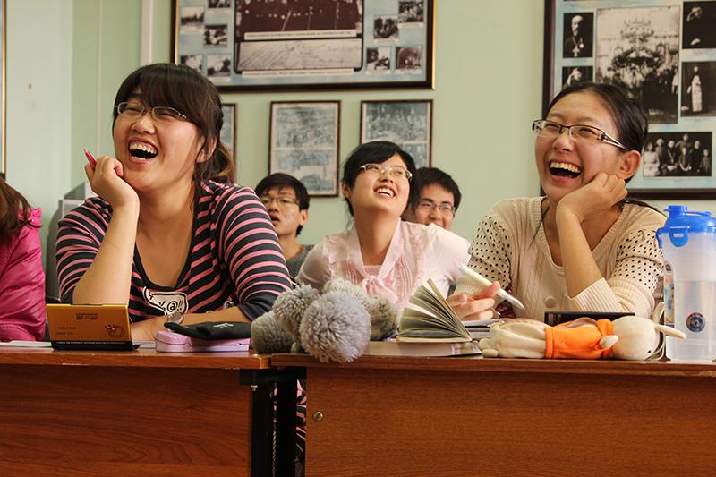Китайские студенты в России