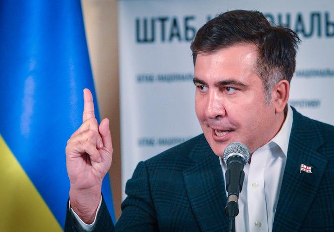 Экс-президент Грузии Михаил Саакашвили. Фото РИА Новости