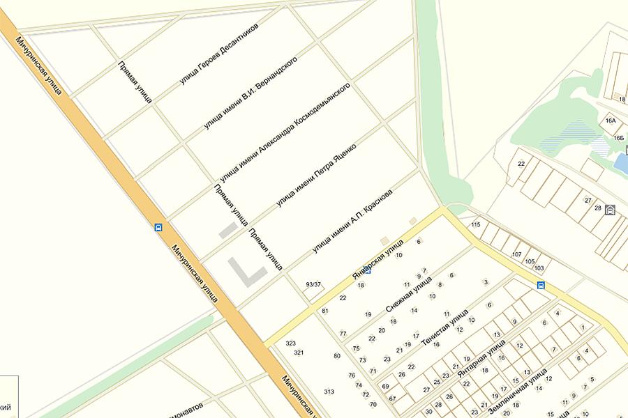 Карта Северного