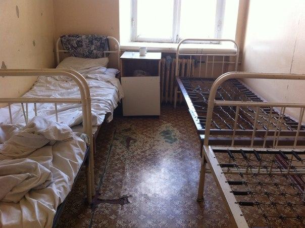 Палата в инфекционной больнице города Тамбова,2014 год