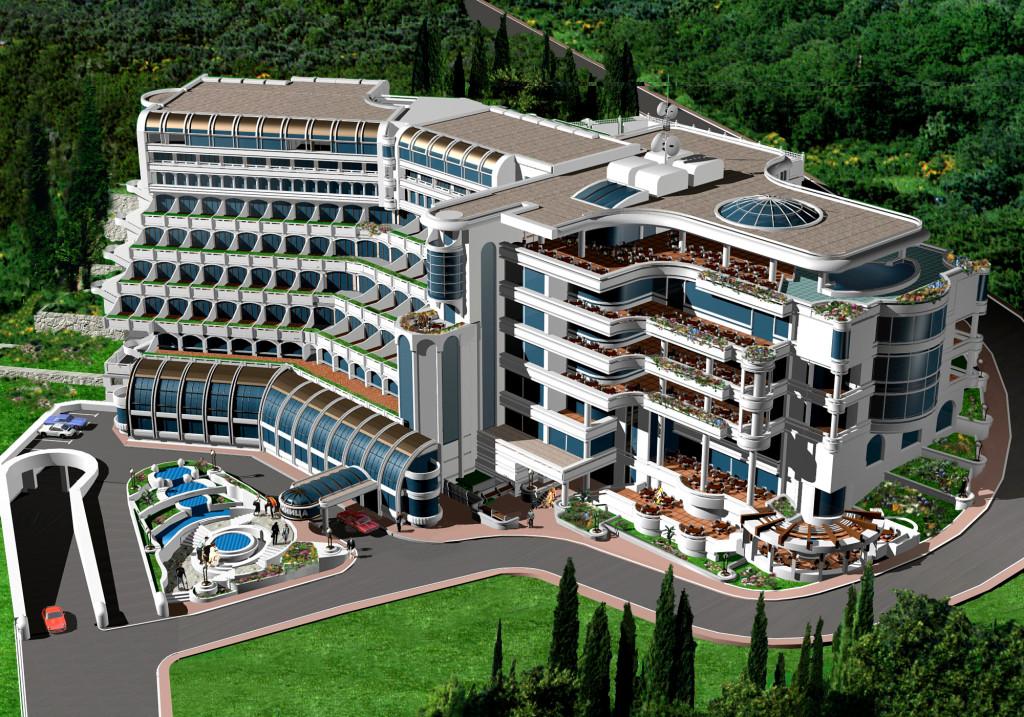 Проект одного из 5* отелей