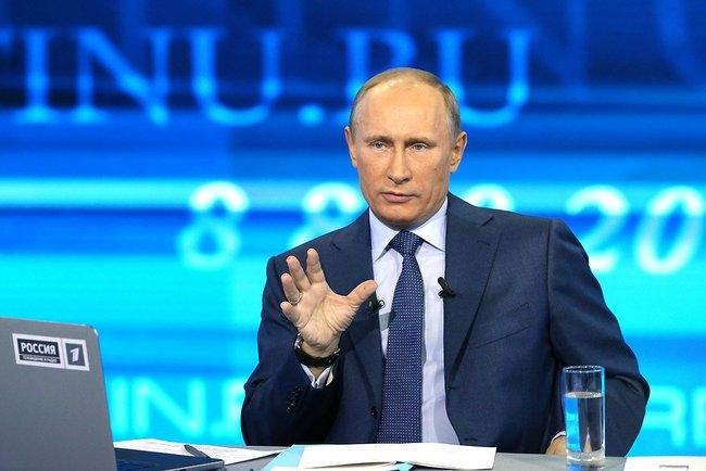 Вопрос Путина от тамбовчанина