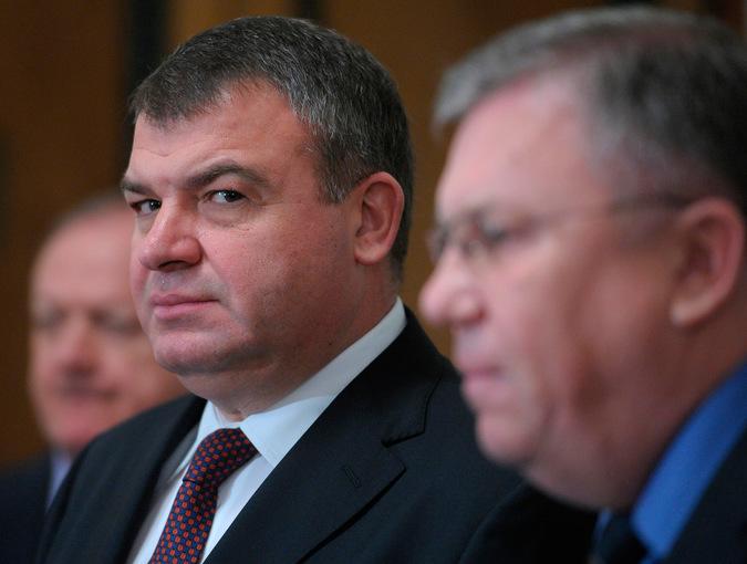 Анатолий Сердюков, фото РИА Новости