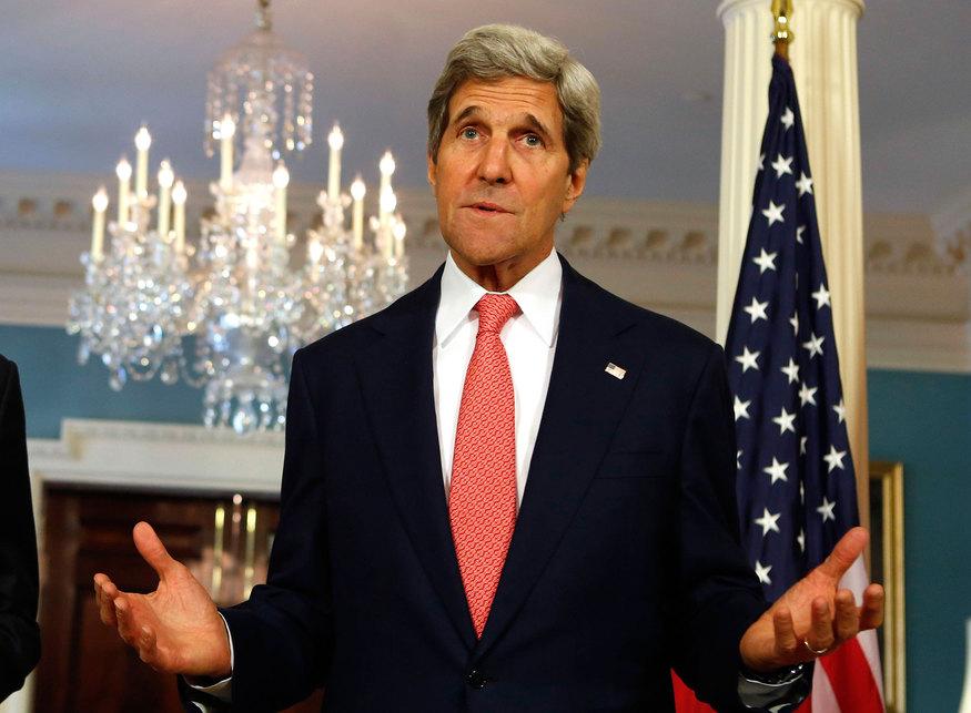 Государственный секретарь США Джон Керри. © Yuri Gripas/Reuters