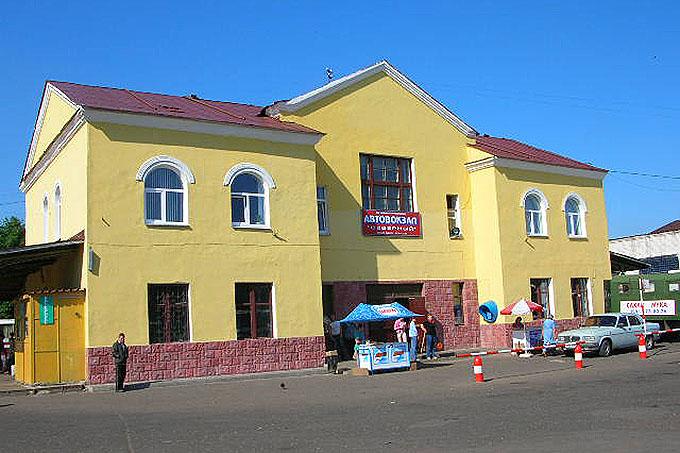 """Автовокзал """"Северный"""" в Тамбове. Фото ВТамбове."""