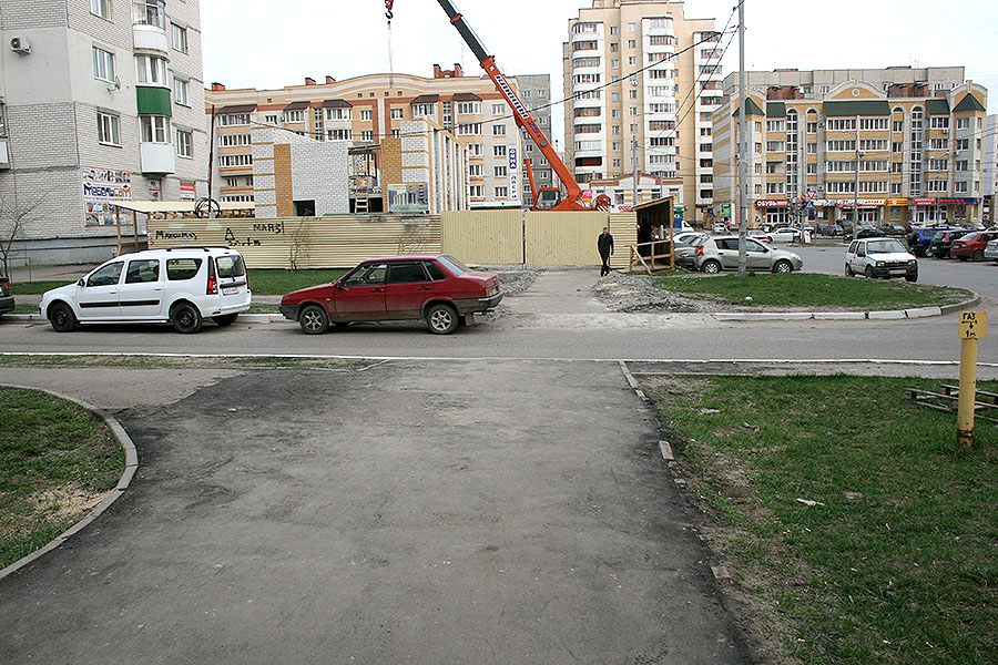 Тротуар на Ореховой