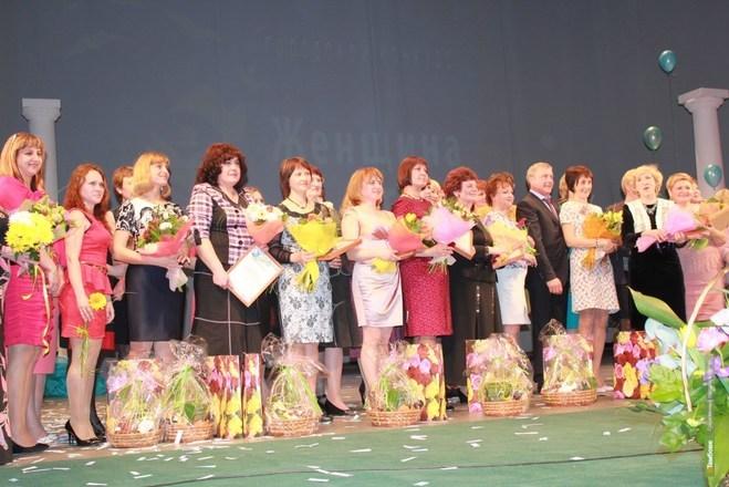 "Конкурс ""Женщина года - 2014"" в Тамбове. Фото ВТамбове."