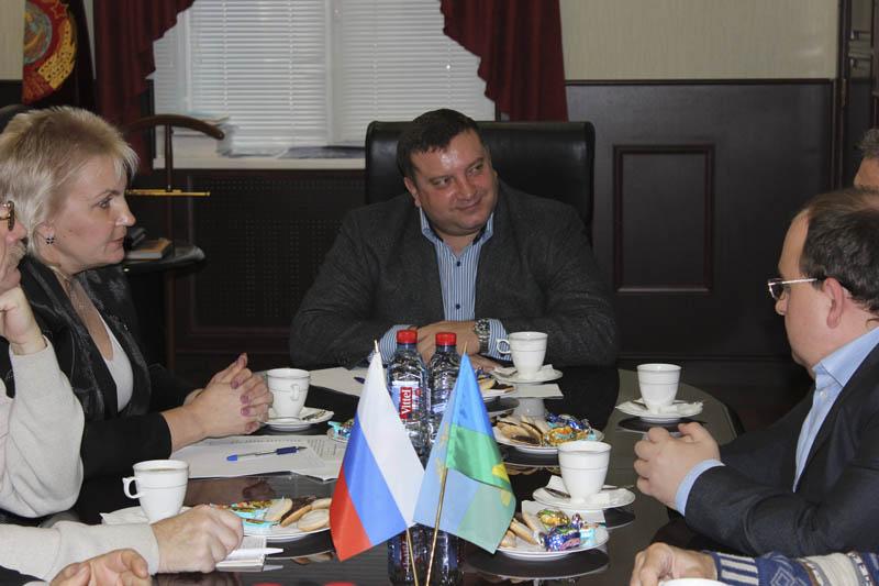 Глава Тамбова Алексей КОНДРАТЬЕВ, фото Тамбовской городской Думы