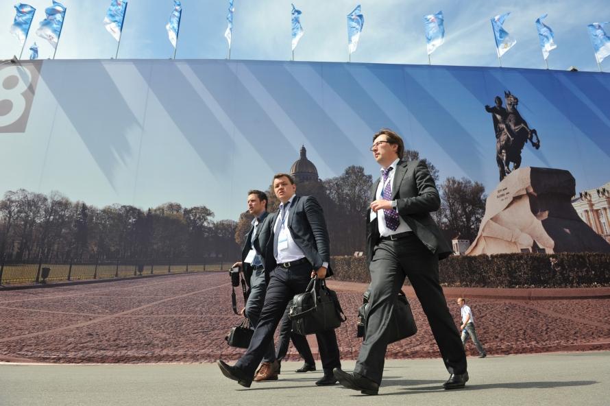 Международный экономический форум в Питере