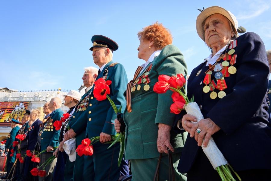 День Победы в Тамбове. Фото me4tatell.livejournal.com